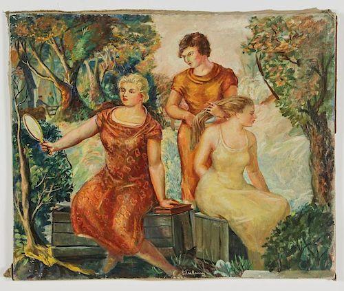 Glen Ranney (American, 1896-1959) Painting