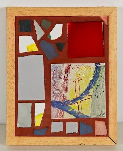 "Isaiah Zagar (American, b. 1939) ""Mirror Mirror"""