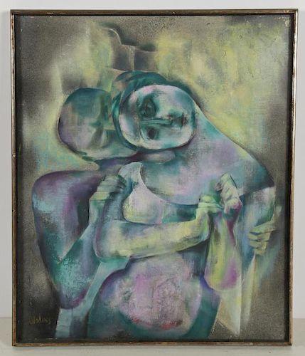 "Joseph Wolins (American, 1915-1999) ""Consolation II"""