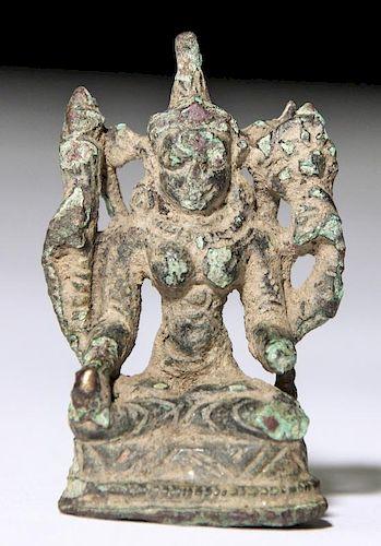 Bronze Tara Statue, Pala Period (11/12th C)