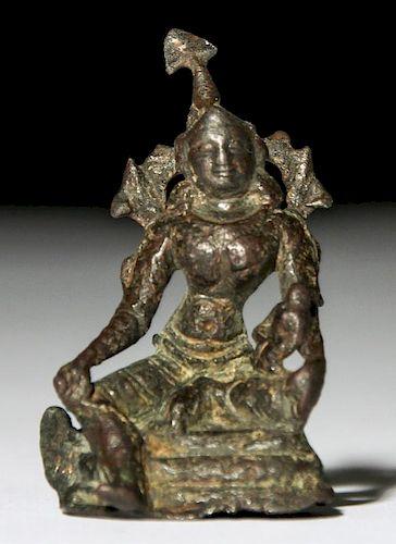 Bronze Mother Goddess, Pala Period (11/12th C)