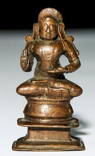 Bronze Jain Statue, 18th Century