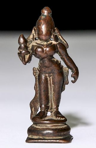 Bronze Statue, Ca. 1800-1850, Bengal India