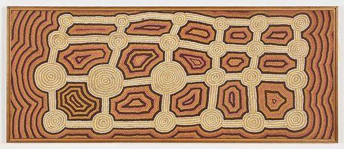 Aborigine Painting on Canvas