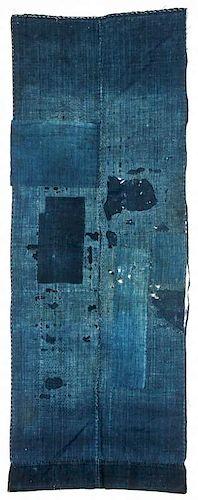 "Antique Japanese Boro: 68.5"" x 26"" (174 x 66 cm)"