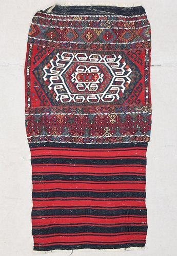 "Malatya Kurd Kilim Bag Face: 2'6"" x 4'9"" (76 x 145 cm)"