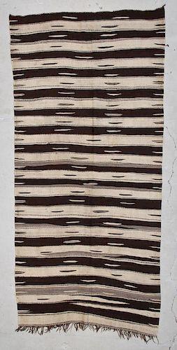 "Vintage Moroccan Kilim: 4'9"" x 10'2"" (145 x 310 cm)"