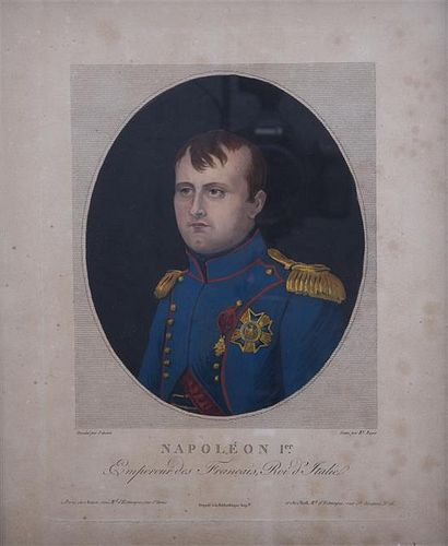 After J. Guerin, (French, 19th century), Napoleon Ier