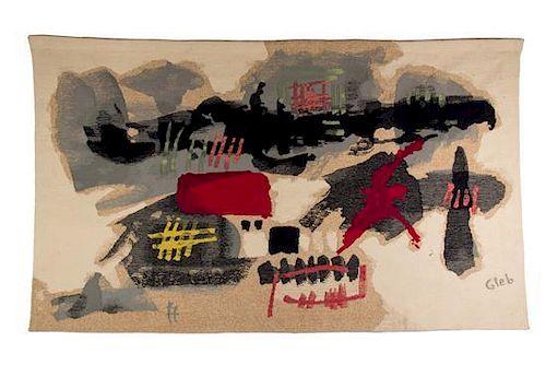 Thomas Gleb, (Polish, 1912-1991), Hiver Polonais, 1965 Atelier Claire Rado, Suresnes