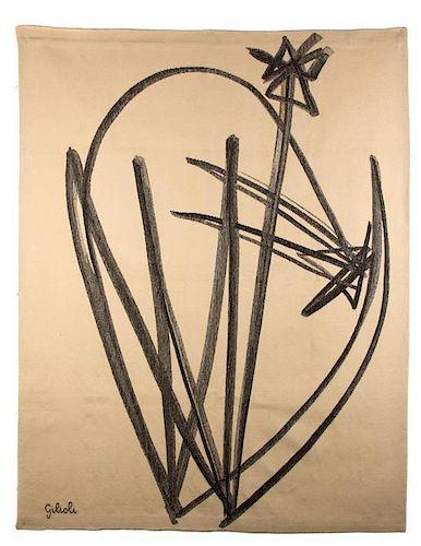 Emile Gilioli, (French, 1911-1977), Defense de la Fleur Atelier R. Picaud, 28, rue A.-Assolant