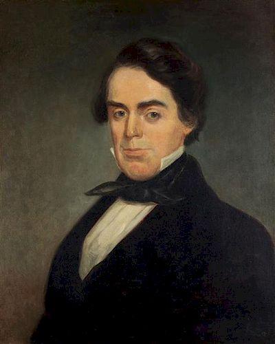 Artist Unknown, (19th century), Gentleman in a Black Jacket and Tie