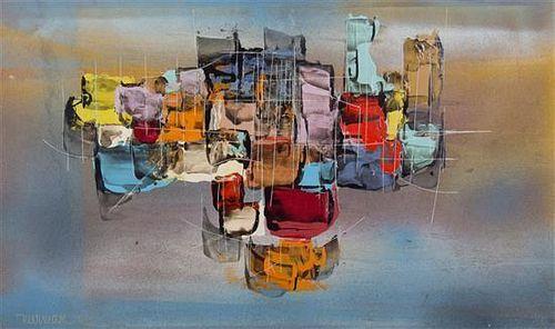 Leonardo Nierman, (Mexican, 1932), Untitled, 1959