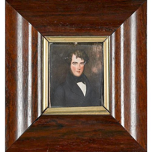 PAINTING OF A DISTINGUINSHED GENTLEMAN