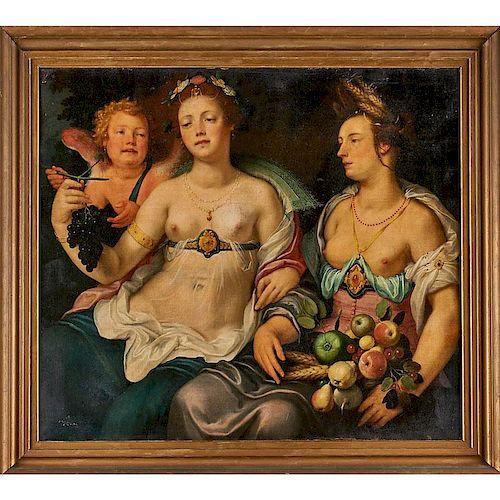 CIRCLE OF CORNELIS CORNELISZ VAN HAARLEM (Flemish 1562-1638)