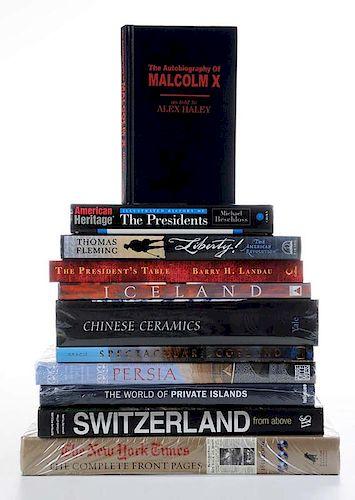 Eleven Assorted Books