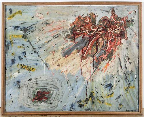 Robert Richenburg (American, 1917-2006) Abstract Painting