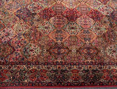 Karastan Multicolor Panel Kirman Rug