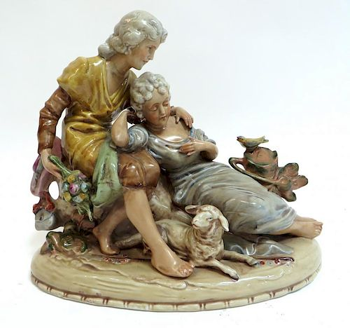 Porcelain Figurine Duet