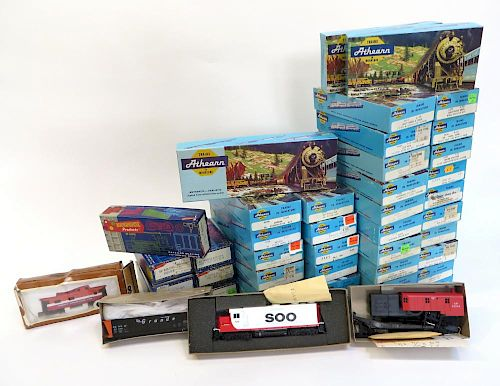 Forty-Two Ho Gauge Model Train Kits