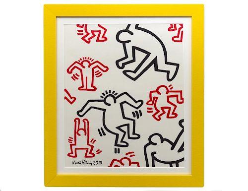 KEITH HARING (American. 1958-1990)