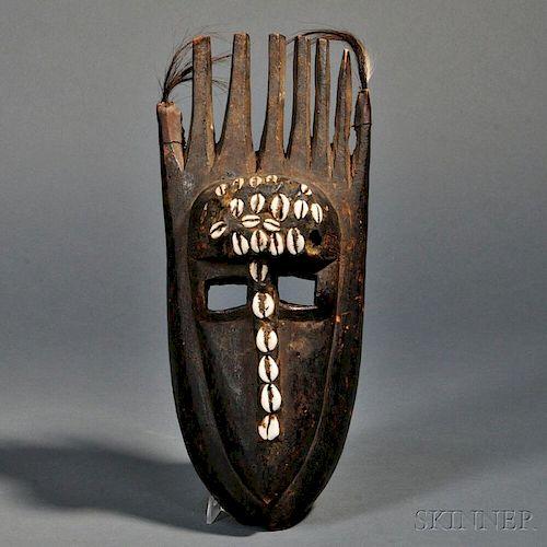 Bamana N'tomo Horned Mask
