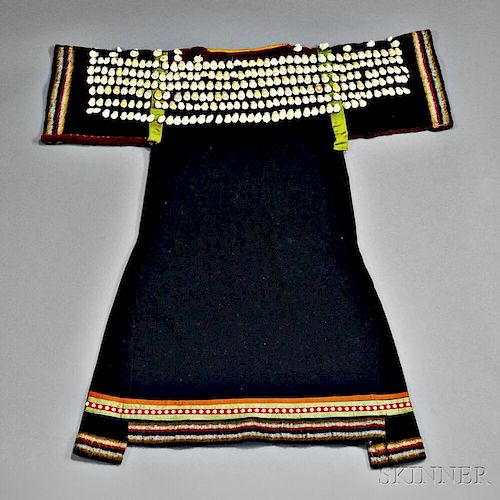 Sioux Blue Trade Cloth Girl's Dress