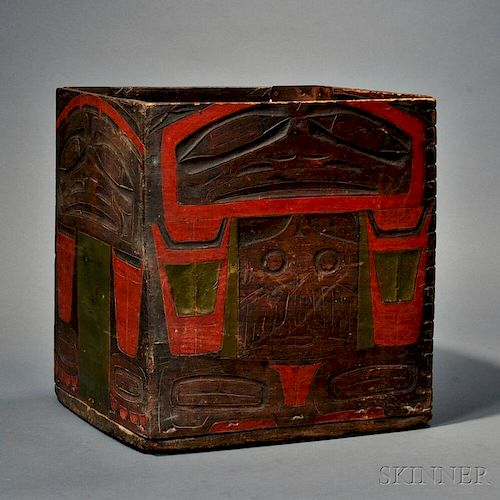 Northwest Coast Kerf Bent Box