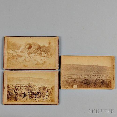 Three Western Photographs