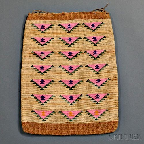 Large Plateau Cornhusk Bag