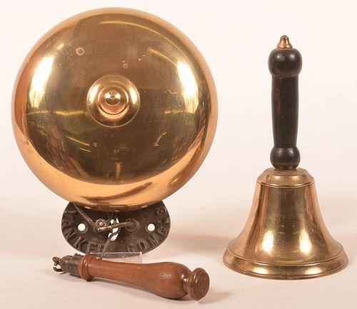 Two 19th Century Brass Bells.