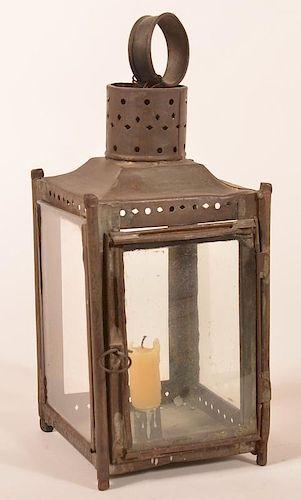 Pennsylvania 19th Century Candle Lantern.