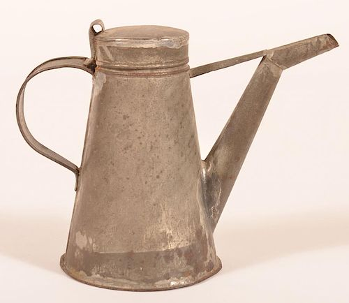 19th Century Tin Lamp Filler.