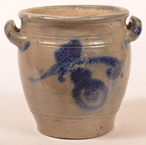 19th Century German Stoneware Storage Jar.