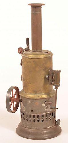 Antique Vertical Steam Engine Toy.