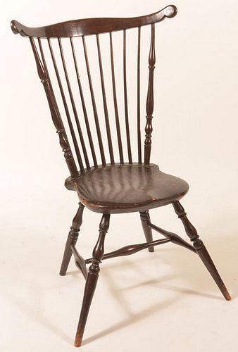 Windsor Style Fan-back Side chair.