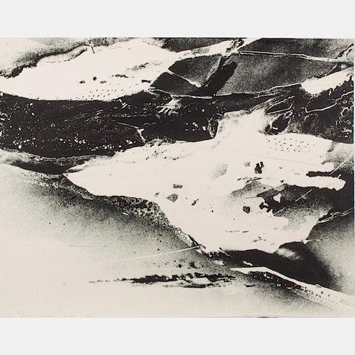 Albert William Christ-Janer (American, 1910-1973) Landforms, Lithograph,