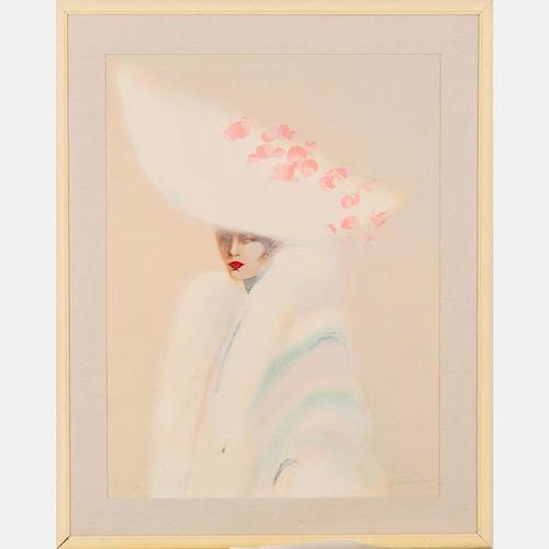 Victoria Montesinos (20th Century) Untitled, Lithograph,