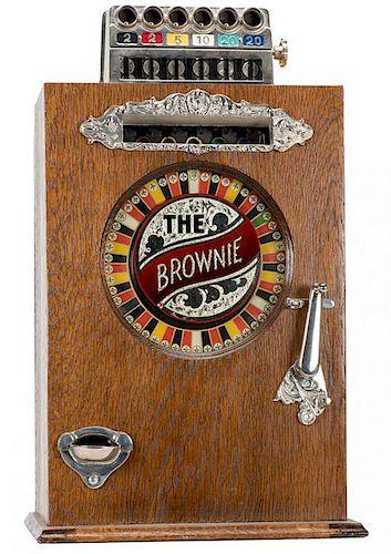 Watling Five Cent Brownie Slot Machine. Chicago
