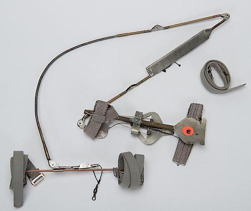 Kepplinger Holdout Device American Ca 1910 A Knee Spread Device