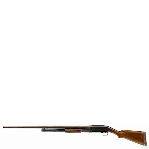 winchester model 12 pump action shotgun 12 gauge 2 3 4 30