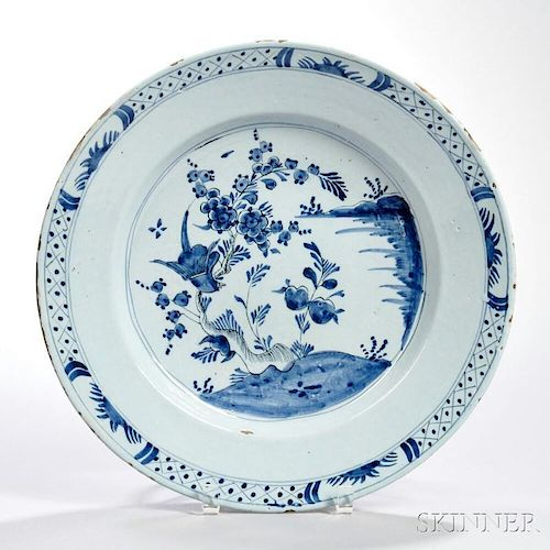 Delft Blue and White Charger