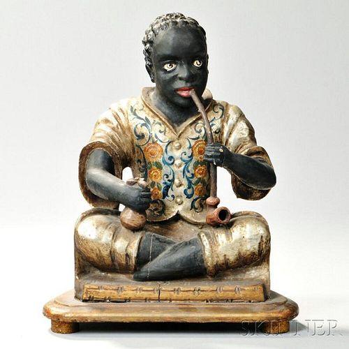 Continental Seated Blackamoor Figure