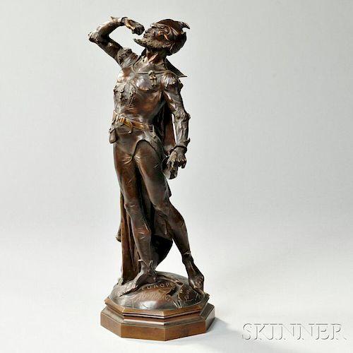 After Auguste De Wever (Belgian, 1836-1884)       Bronze Figure of Mephistopheles
