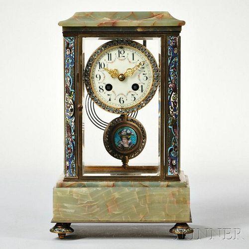 Onyx Mantel Clock