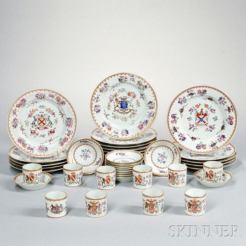 Samson Porcelain Chinese Export-style Partial Dinner Service