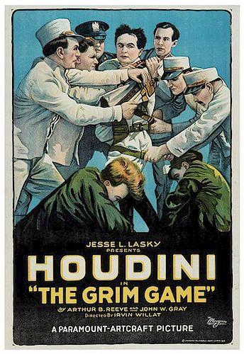 Houdini, Harry (Ehrich Weisz). Houdini In The Grim Game.