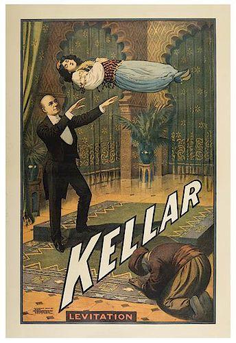 Kellar, Harry (Heinrich Keller). Kellar. Levitation.