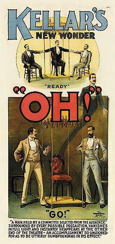Kellar, Harry (Heinrich Keller). Kellar's New Wonder. Oh!