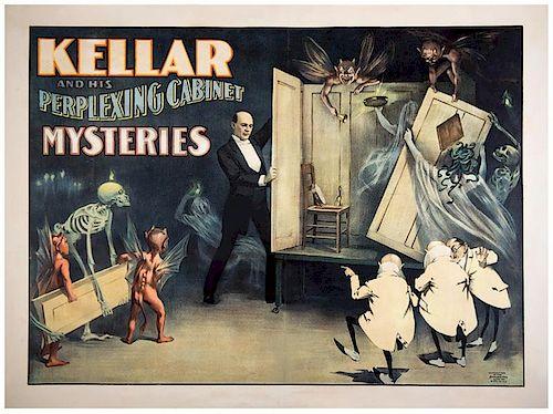 Kellar, Harry (Heinrich Keller). Kellar and his Perplexing Cabinet Mysteries.