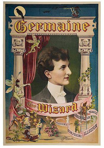 Germain, Karl (Charles Mattmuller). Germaine The Wizard.